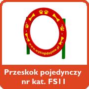 Przeskok pojedynczy nr kat. FS11