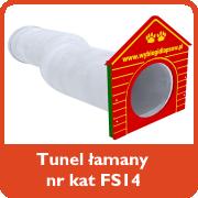 Tunel łamany nr kat. FS14