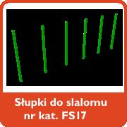 Słupki do slalomu nr kar. FS17