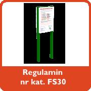 Regulamin nr kat. FS30