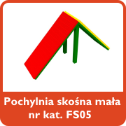 Pochylnia skośna mała nr kat. FS05