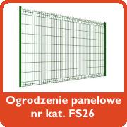 Ogrodzenie panelowe nr kat. FS26