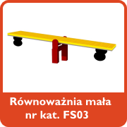 Równoważnia mała nr kat. FS03